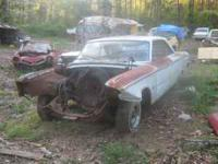 1963 1/2 FASTBACK GALAXIE 500 BODY HAS BEEN WRECKED IN