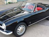 1963 ALFA ROMEO GIULIETTA SPIDER. Here find the classic