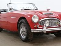1963 Austin-Healey 3000 BJ7 Convertible Sports Car show