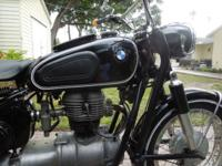 1963 BMW R-27 ... Integrateded Germany and delivered on