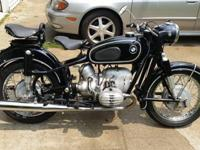 1963 BMW R 60 , Beautiful numbers matching 63 BMW R60/2