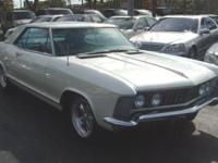 This 1963 Buick Riviera 2dr Coupe . It is equipped with