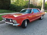 This is an AWESOME 1963 Buick Riviera in fantastic