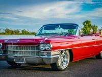 1963 Cadillac DeVille Series 62 Convertible Extremly