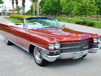 1963 Cadillac Eldorado Biarritz. 1 of only 1,825 ever
