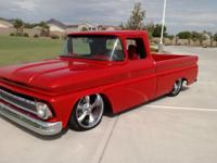this 1963 Chevy c10 has been built with nothing but the
