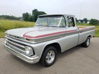1963 Chevrolet C-10. It is Powered by a GM 350 V8 with