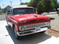 This classic 1963 3/4 ton Chevrolet pick-up is ready to
