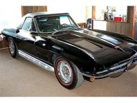 1963 Corvette Sting Ray Convertible. 350 crate engine,