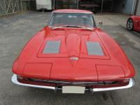 1963 Corvette 2-Door Split Window Coupe - Riverside Red