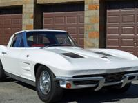 1963 Corvette split window coupe, factory 340hp, 4