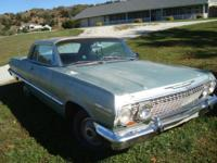 1963 Chevrolet Impala 2DR HT ..Project ..Odometer Reads