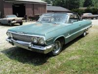 1963 Impala Convertible, car has been stored last 8