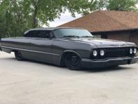 1963 Chevrolet Impala Gloss Black Powder Coat Brite
