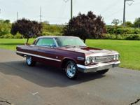HERE IS A VERY RARE 1963 CHEVY IMPALA SS 409 THAT IS