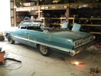 1963 Chevy Impala SS Convertible, REAL SS car, NOT a