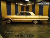 1963 Chevrolet Impala SS for sale! This is a sharp car