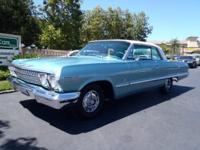 1963 Impala SS! A flashy two door hardtop repainted