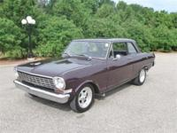 Just in on trade is this very sharp 1963 Chevy Nova