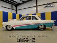 1963 Chevy II/Nova race car. This car has the best of