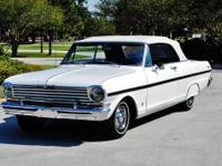 1963 CHEVY NOVA CONVERTIBLE SIMPLY BEAUTIFUL MAINLY