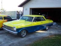 1963 Chevrolet Nova SS 2DR HT ..2-Tone Yellow-Blue