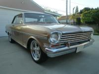 1963 CHEVROLET NOVA SS -This lovely car sports original