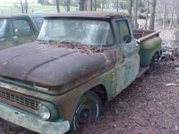 One owner 1963 Chevrolet stepside pickup truck--6