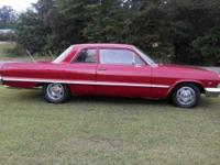 1963 Chevy Bel Air V8 Engine, 700 4R Full Speed