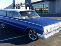 1963 Chevy Biscayne Wagon just like a belair with a