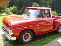 1963 Chevy C-10 pickup (WV) - $17,900 Exterior: Red