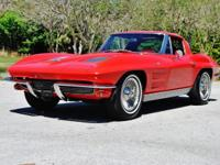 This stunning 63' Corvette Split Window would make an