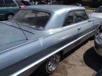 IM SELLING A 1963 CHEVY IMPALA! 1963 CHEVY IMPALA FOR