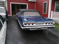 I have a very solid 1963 Chevy Impala Convertible that