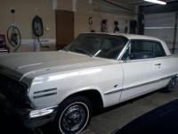 '63 Impala SS. 2 Door. 64,815 initial miles. White