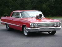 One Sweet Crusin' Machine......1963 Chevy Imapla SS Pro