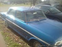 1963 Chevy Nova ll, all original exterior and