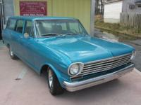 SUPER STYLISH VINTAGE CAR Chevy II Nova Wagon 1963 4