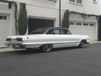 1963 Chevy SS IMPALA Frame off restoration Powder