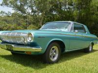 1963 Dodge Polara Max Wedge Ramcharger. Excellent and