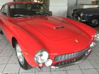 This is a 1963 Ferrari GTL Lusso. One of 350 cars built