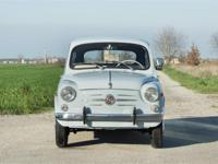 Fiat 600 had two suicide doors, four seats and a 633cc