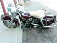 This is a 1963 FLH Harley Davidson. I have owned this