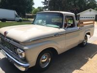am selling my 1963 Ford F-100 Style Side Short Bed