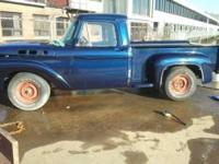 Very Sharp all original Ford F100 original in factory
