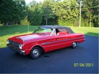 1963 FORD FALCON FUTURA CONVERTIBLE. . . . . . . . .