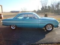 1963 Ford Falcon, initial 6 cyc Auto; now has '93
