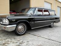 1963 Ford Galaxie Wagon - 427  Dual Quad - 4 speed top