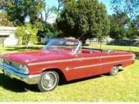 1963 Ford Galaxie XL Convertible This classic car is in