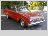 Year : 1963 Make : Ford Model : Ranchero Exterior Color